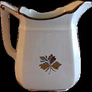 Alfred Meakin Ironstone Tea Leaf Milk Pitcher