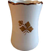 Alfred Meakin Ironstone Tea Leaf Round Toothbrush Holder