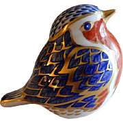 "Royal Crown Derby ""Robin"" Paperweight/Figurine"