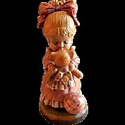 "Anri of Italy ""Wake Up Kiss"" Limited Carving 290/4000 by Sarah Kay"