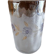 "New England Glass Company ""Pomona"" Second Grind Cornflower Pattern Tumbler"