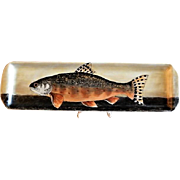 "Home Studio Hand Painted ""Atlantic Salmon"" Tray"