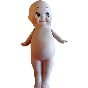 "Rose O'Neill Signed Bisque ""Kewpie"" Doll - 4 1/2"" Tall"