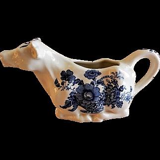 Royal Staffordshire Clarice Cliff Charlotte Design Cow Creamer