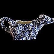 Royal Crownford Calico Design Cow Creamer