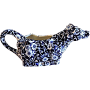 Royal Crownford Calico Design Cow Creamer