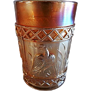 "Dugan/Diamond Marigold Carnival ""Stork & Rushes"" Tumbler"