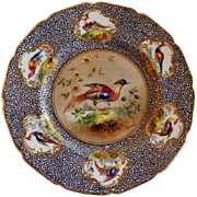 "Royal Doulton ""Bird of Paradise"" Motif Plate (6 of 6) - E Percy/Robert Allen"