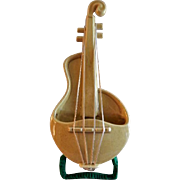 "Red Wing Pottery ""Violin"" Wall Pocket"