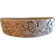 "Red Wing Pottery ""Magnolia"" Pattern - Bow Front Planter #1234"