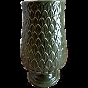 "Red Wing Pottery Mid-Century ""Artichoke"" Vase - M 1442"