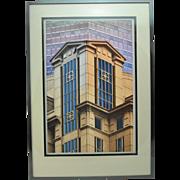 Original Anne Davey Photograph of Boston Architecture