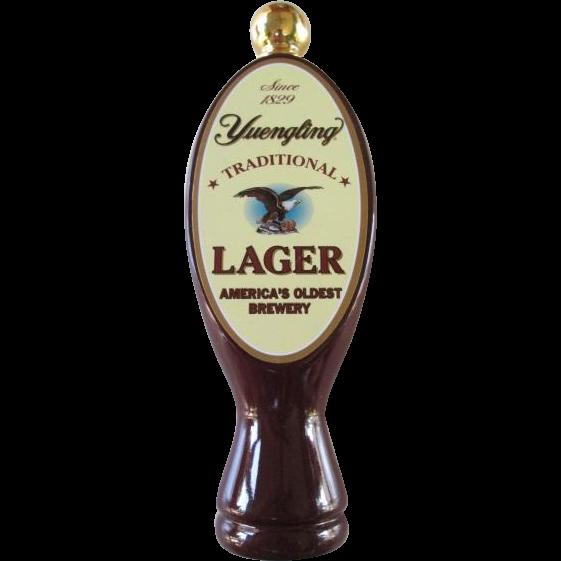 Yuengling Lagar Beer Tap Handle SOLD on Ruby Lane