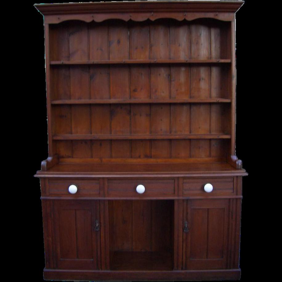 Antique Furniture Victorian Pine Dresser. Antique Furniture Victorian Pine Dresser from