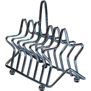 Toastrack Chrome Star Art Deco.