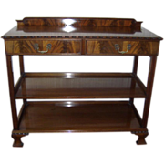 Antique Furniture Buffet or Etagere or Server Mahogany