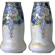 Royal Doulton Stoneware Vases British Arts and Crafts 1922 – 1936 Floral Tube Line.