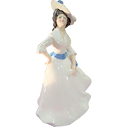 Royal Doulton Lady Figurine Porcelain 1981 English Margaret HN2397 Vanity Fair