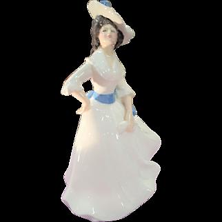 Royal Doulton Lady Figurine Porcelain 1981 English Margaret HN2397 Vanity Fair