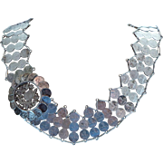 Antique Silver 1/4 Real Guatemalan Coin Belt/Necklace
