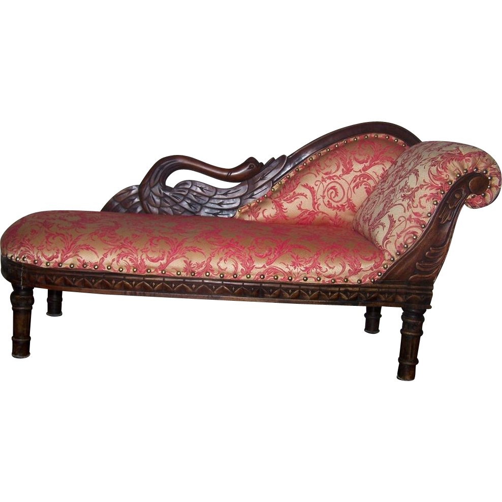 Fainting couch for bisque doll red tag sale item sold on for Fainting couch