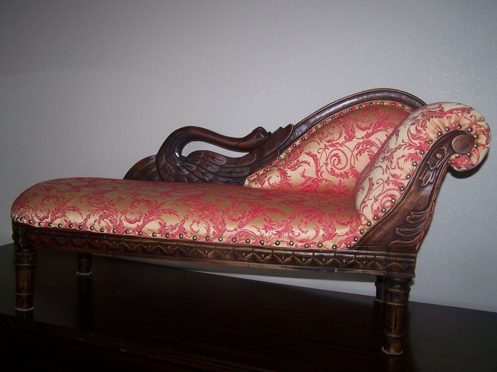 Fainting Couch For Bisque Doll Red Tag Sale Item Sold On