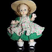 Madame Alexander-kins 1950's Tagged Dress