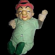 Cartoon Character Mr. McGoo Vintage Doll 1949