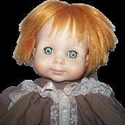 "Alexander 1965 Vinyl/Cloth Doll 19"""