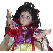 Vintage Vinyl Storybook Snow White Doll By Robin Woods