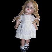 "Nancy Composition 17"" Doll Marked ""NANCY"""