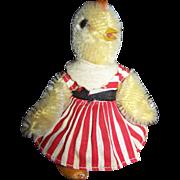 STEIFF Rare HTF Kiki Chick/Kueken 1950's With Button #712