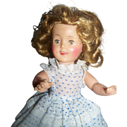 1950s Shirley Temple Vinyl Doll ST 12