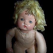 """1942 Effanbee Little Sister Doll 12"""""""