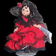"Madame Alexander 8"" doll Spain # 595 Original Box"