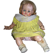 Madame Alexander 1962 Baby Doll For Repair or Parts