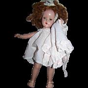 "R & B Hard Plastic Doll 15"""