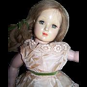 """Beauty Hard Plastic 18"""" Vintage Doll"""
