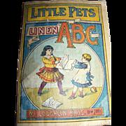McLoughlin Bros. New York Little Pets Linen ABC Book
