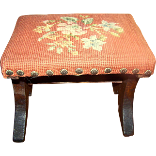 Miniature Footstool For Child/Doll