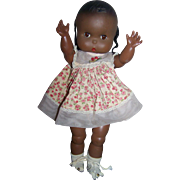 Jolly Toys Inc., 1960 Marked Vintage Black Doll