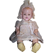 1930s Baby Shirley Temple Composition/Cloth Body