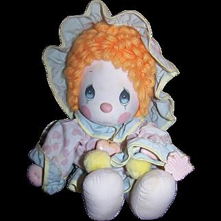 Precious Moments Clown Doll 1985