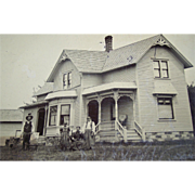 RaRe Full Plate Tintype Farm House Michigan