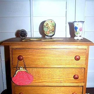 EXCELLENT Vintage Doll Dresser