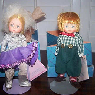 Madame Alexander Dolls (Two) Ice Skater #303 and Tommy Tittlemouse #444
