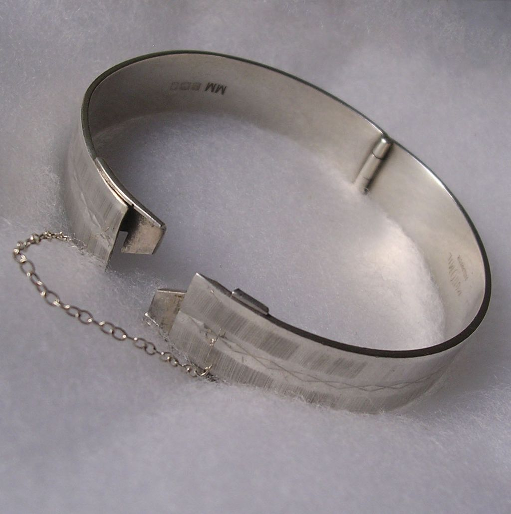 beautiful heidi bracelet hinged bangles solid kjeldsen jewellery silver bangle sterling bracelets