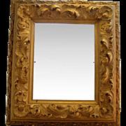 Antique 19th C Georgian Rococo Ornate Gilt Gesso Picture Frame