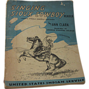 United States Indian Service 1947 Sioux Reader RARE