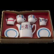Vintage 1930's Child's Tea Set Complete Boxed